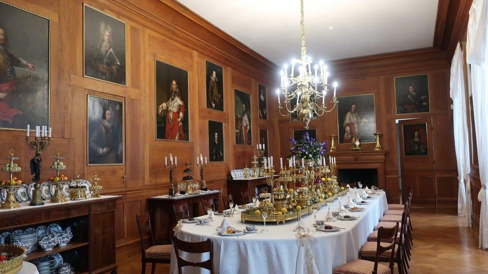 Залы замка  Кинжварт,  фото: Мартина Шнайбергова
