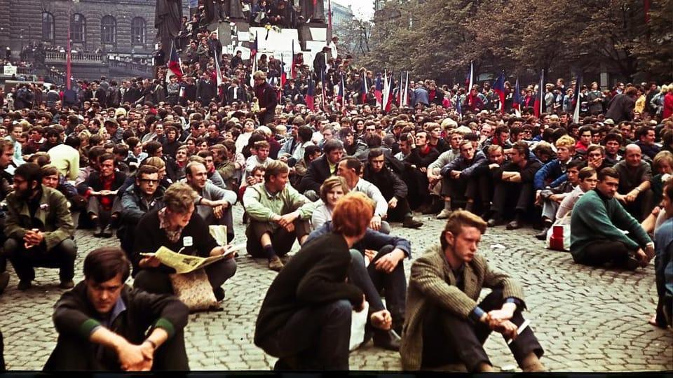 Прага,  август 1968,  Фото: Лешек Савицки