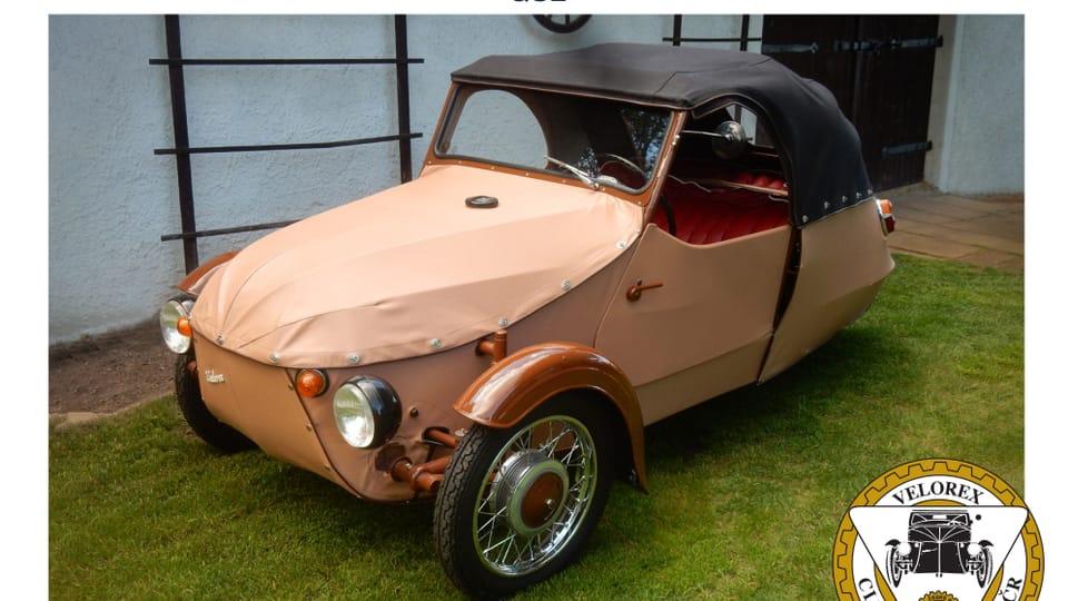 Трехколесная мотоколяска Velorex 16/350,  выпущенная в 1967 году – конструкторами небольшого автомобиля для инвалидов стали братья Франтишек и Моймир Странский  (производство с 1951 по 1971 год). Фото: Ладислав Шустр,  Velorex Club