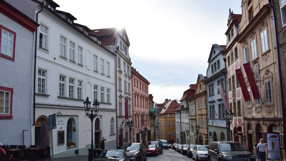 Нерудова улица,  Фото: Екатерина Сташевская,  Чешское радио - Радио Прага