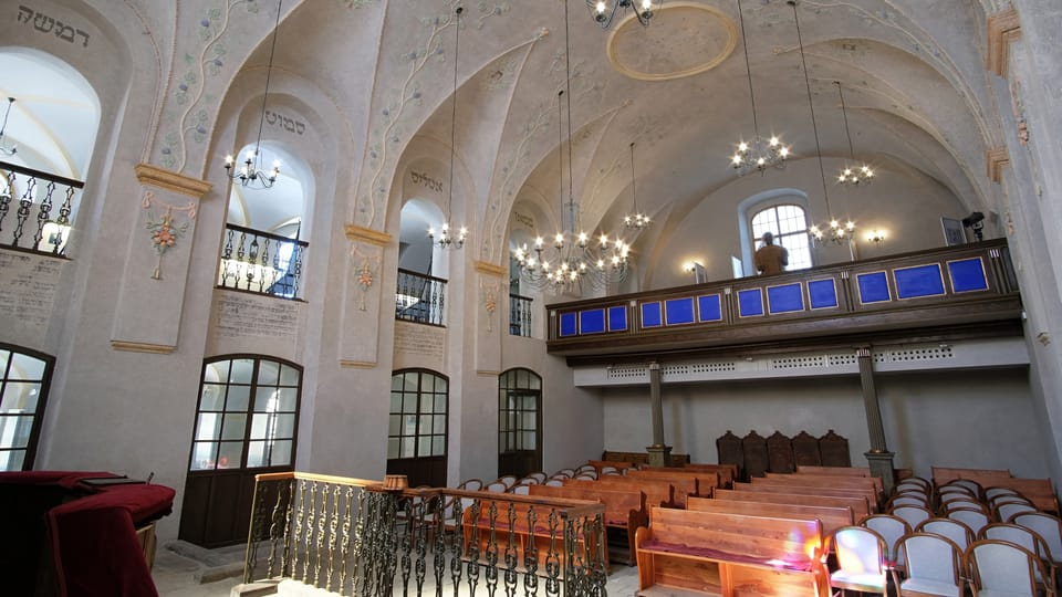 Синагога в Колине,  фото: Jaromír Novotný,  ČRo