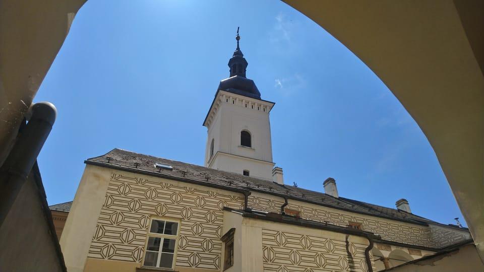 Ренессансные элементы на стенах ратуши,  фото: Антон Каймаков