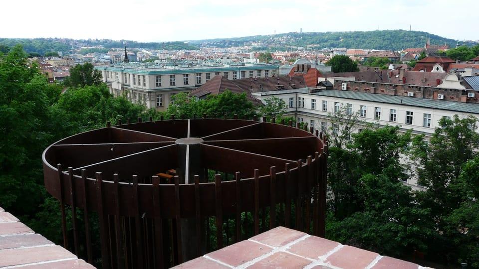 Вид на Прагу с крепостной стены,  Фото: Екатерина Сташевская,  Чешское радио - Радио Прага