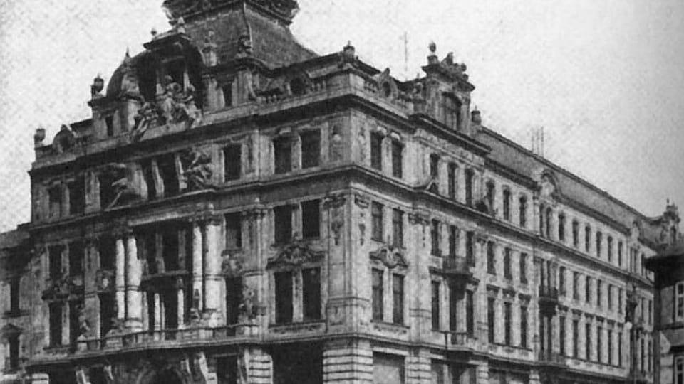 С 1 октября 1907 г. Франц Кафка работал в пражском филиале итальянской страховой компании Assicurazioni Generali,  фото: открытый источник