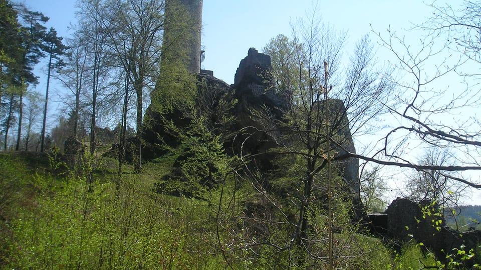 Развалины замка Фридштейн,  фото: Магдалена Кашубова