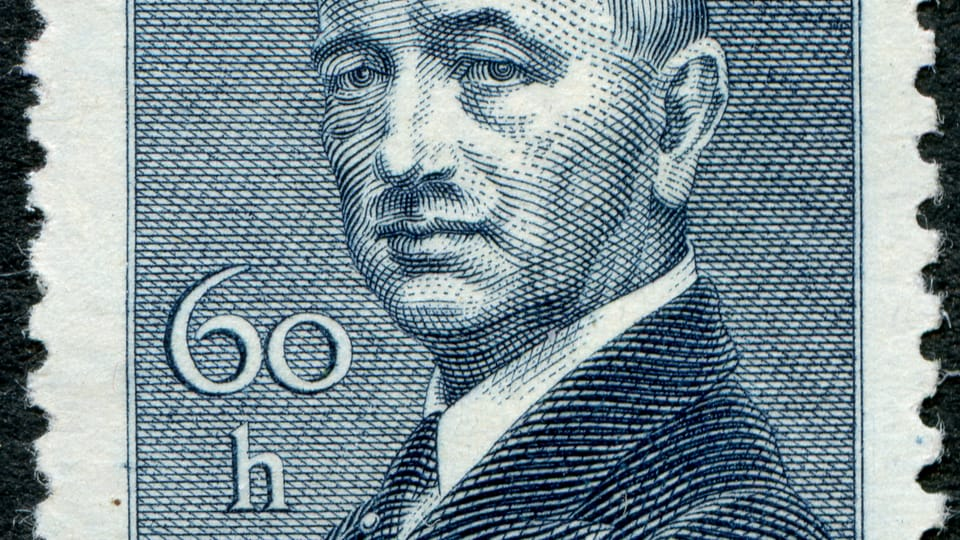 Эдвард Бенеш,  фото: Почтового музея Праги
