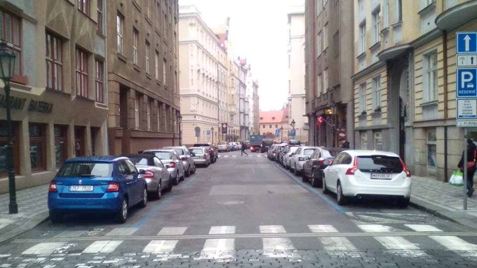 Билкова улица,  где Франц Кафка начал писать Процесс,  фото: Франтишек Корбел,  Wikimedia Commons,  CC BY-SA 4.0