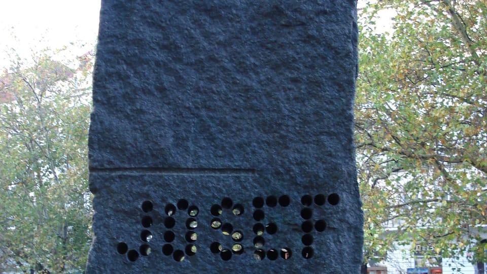 Памятник Павела Опоченского на площади Мира,  фото: Rémi Diligent / открытый источник