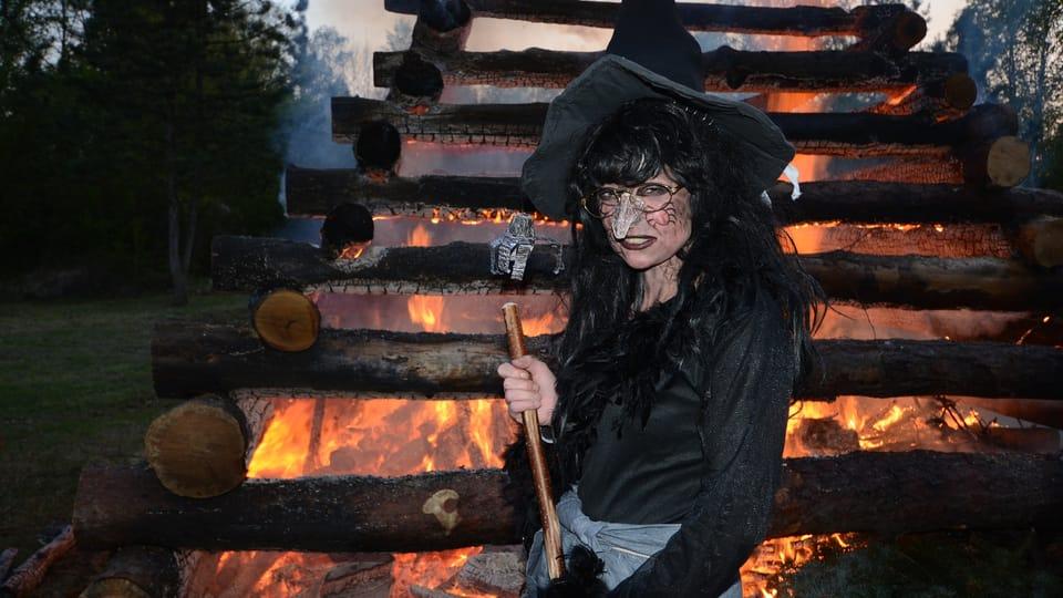 Вальпургиева ночь,  Либехов,  фото:  Эва Туречкова