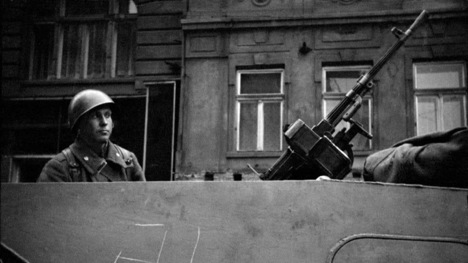 Фотография Яромира Чейки,  фото: выставка Sovětská invaze - srpen 1968