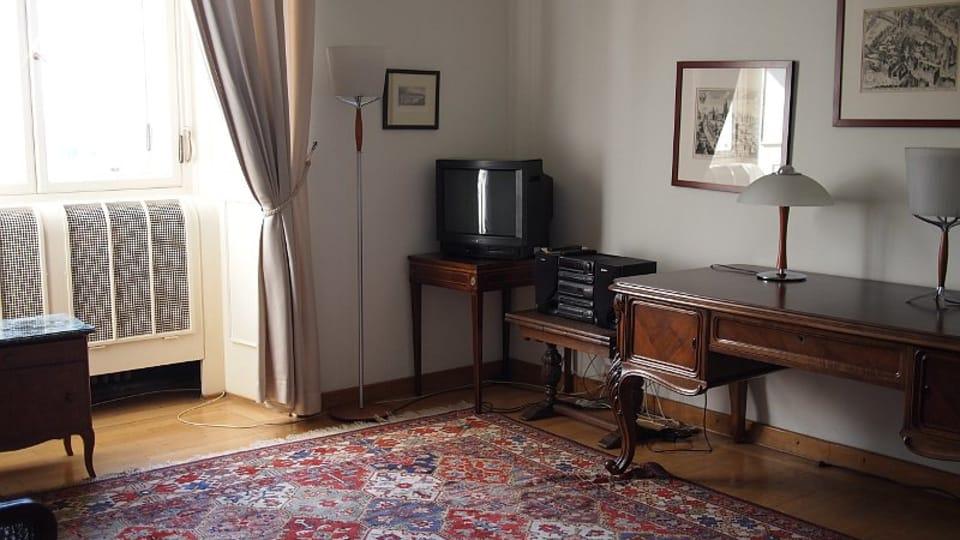 Квартира Яна Масарика,  Фото: Ольга Васинкевич,  Чешское радио - Радио Прага
