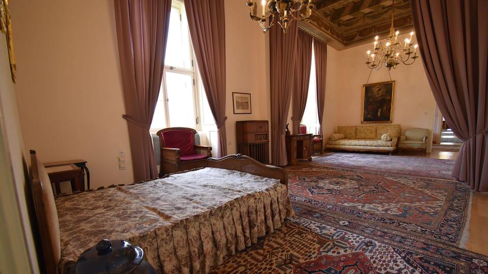 Квартира Яна Масарика в Чернинском дворце,   фото: Ондржей Томшу