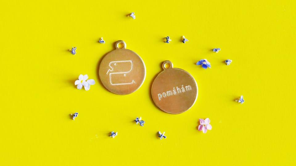 Медаль собаки-донора,  фото: Тереза Корбелова