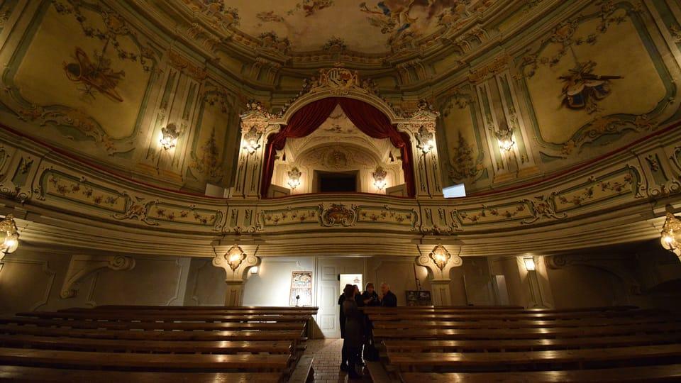 Барочный замковый театр,  Фото: Ондржей Томшу