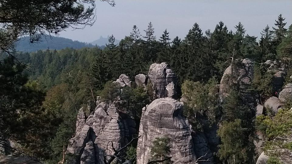 Праховские скалы - смотровая площадка Мира,  фото: Доминика Бернатова