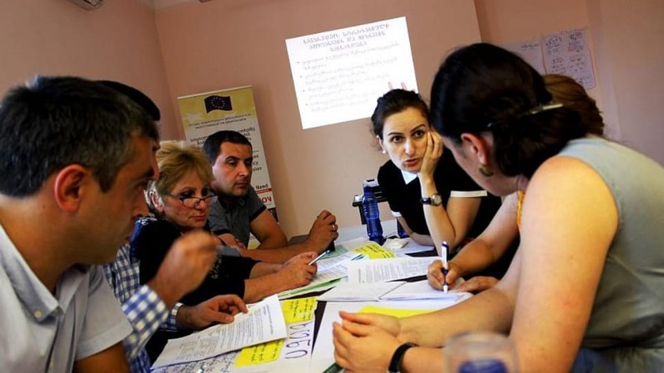 Проект организации «Человек в беде» в Грузии,  Фото: официальный сайт организации «Человек в беде»