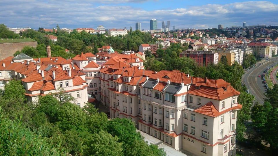 Вид из Вышеграда,  фото: Ирина Ручкина