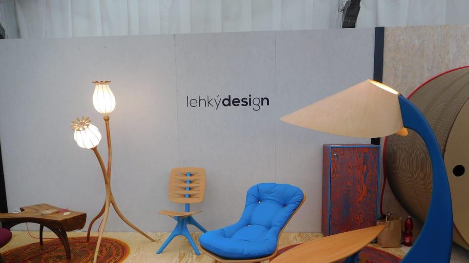 Выставка Designblock,  Фото: Лорета Вашкова,  Чешское радио - Радио Прага