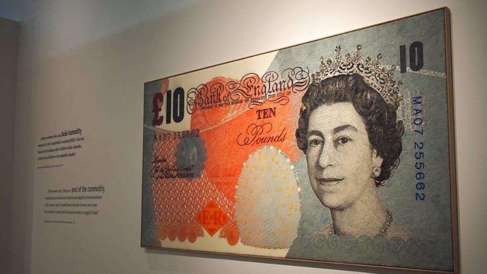 Один из экспонатов выставки «Душа денег»,  Фото: Ольга Васинкевич,  Чешское радио - Радио Прага