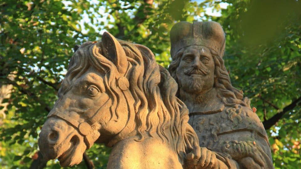 Создавая лицо святого,  Ян Бендл вдохновился портретом императора Священной Римской Империи и короля Чехии Фердинанда III.,  фото: Барбора Немцова