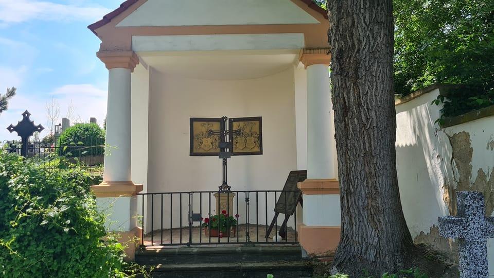 Семейная погребальная часовня на кладбище Тршебивлице   Фото: Клара Стейскалова,  Radio Prague International