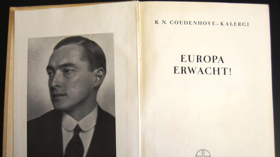 «Пан-Европа» и автор книги Рихард Куденхове-Калерги,  фото: Катерина Айзпурвит