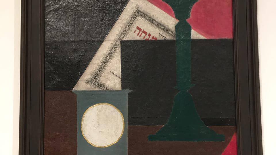 Яков Паин. Натюрморт. 1918   Фото: Катерина Айзпурвит,  Radio Prague International