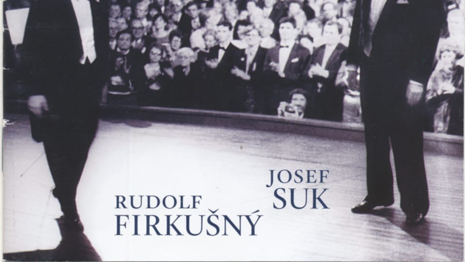 Рудольф Фиркушны и Йозеф Сук,  фото: Supraphon