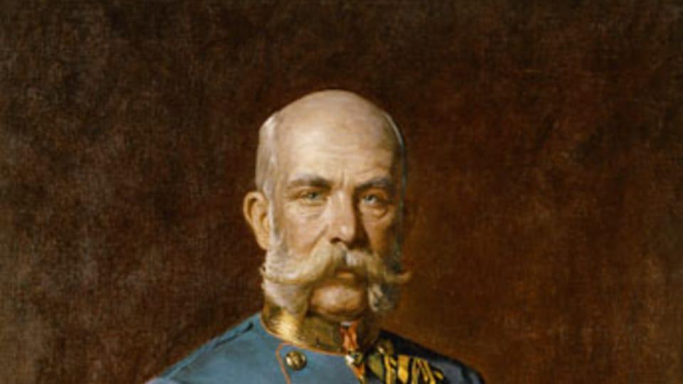 Портрет Франца Иосифа  (Julius von Blaas,  открытый источник)