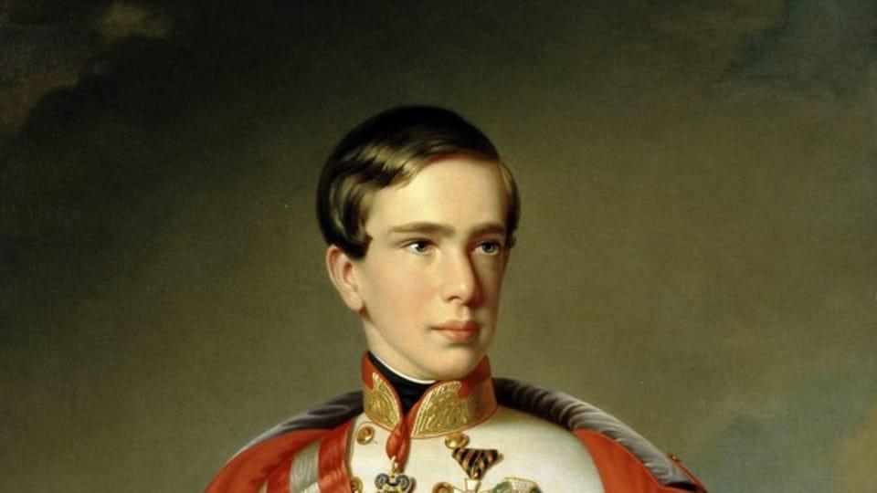Портрет Франца Иосифа,  1851  (Johann Ranzi,  открытый источник)