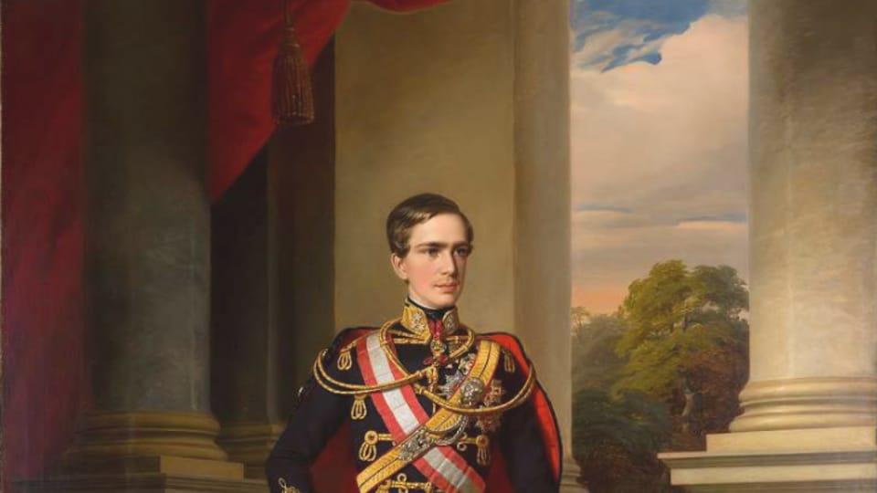 Портрет Франца Иосифа,  1853  (Miklós Barabás,  открытый источник)