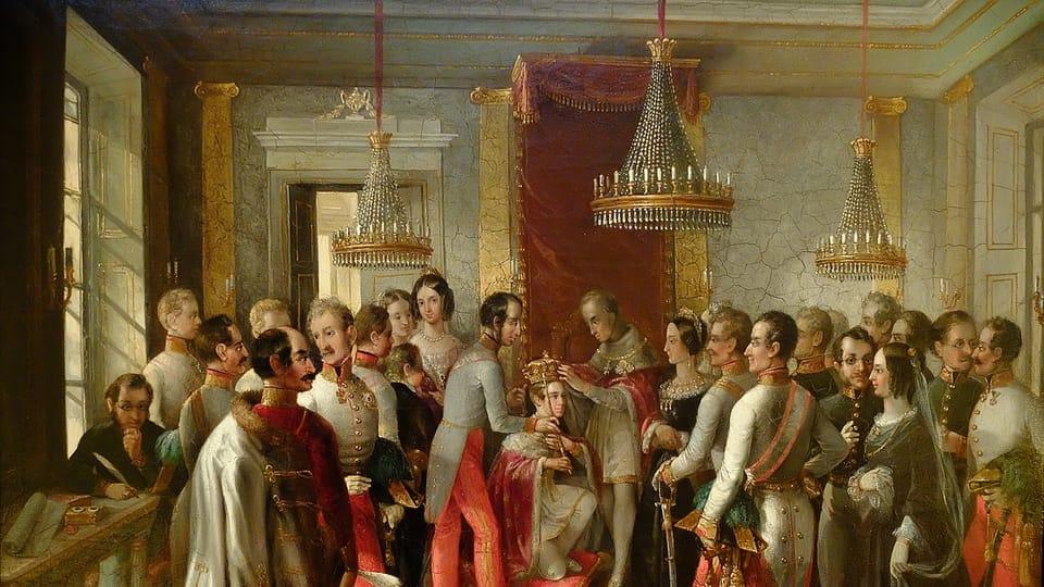 Коронация,  1848  (Ziko van Dijk,  CC BY-SA 4.0)