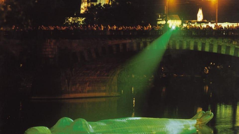 Плавающая скульптура ,  фото: VŠUP