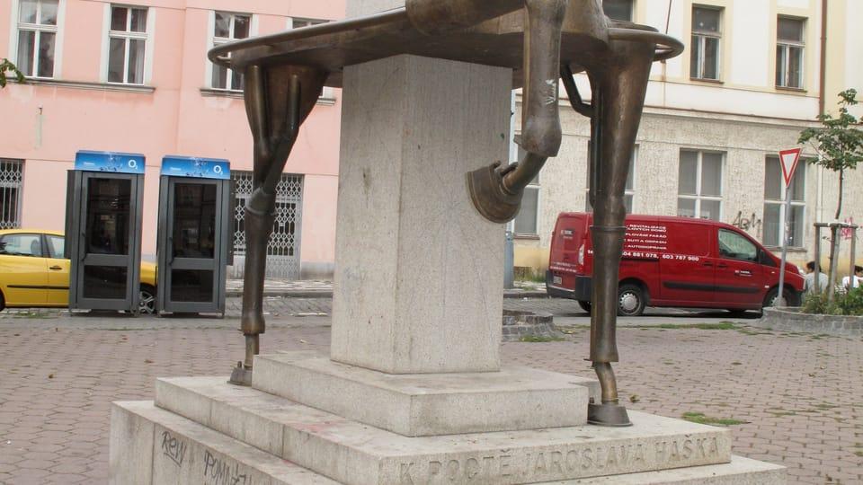 Мемориал Ярослава Гашека в Праге,  фото: Катерина Айзпурвит