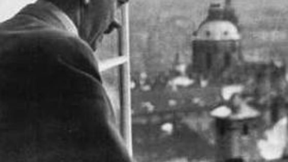 Адольф Гитлер в Праге