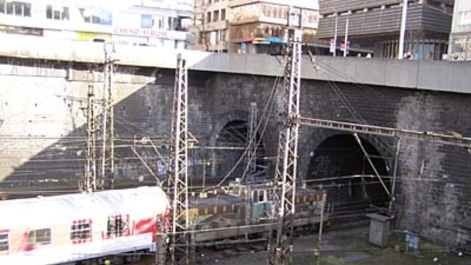 Реконструкция Главного вокзала в 2008 году  (Фото: Кристина Макова)