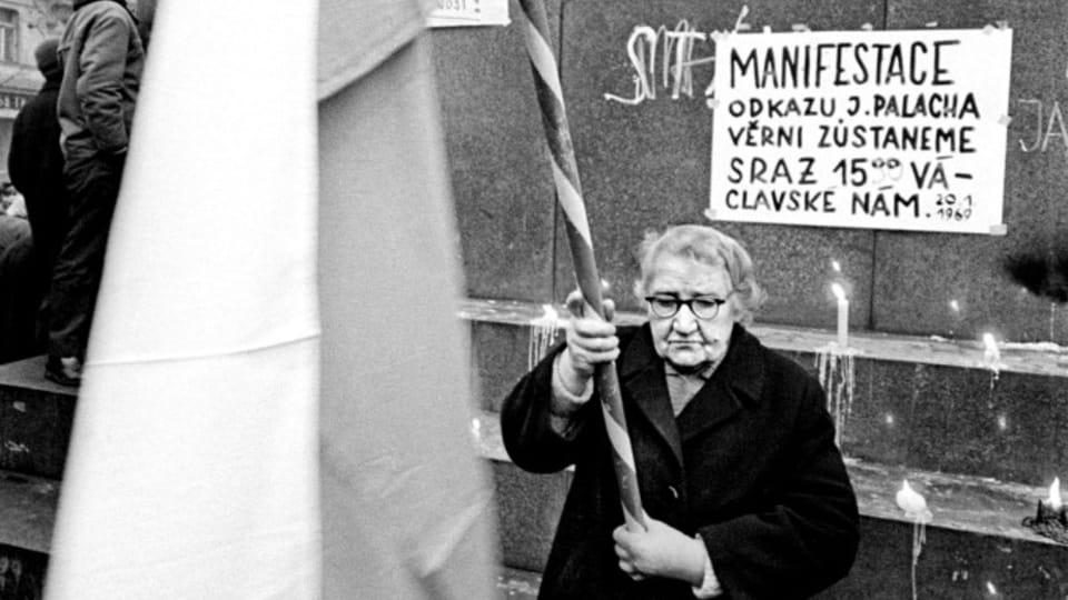 Фотография Пржемысла Гневковского,  1969 г.,  фото: выставка Sovětská invaze - srpen 1968