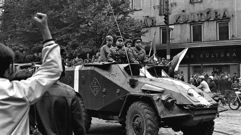 Фотография Есефа Гника,  фото: выставка Sovětská invaze - srpen 1968