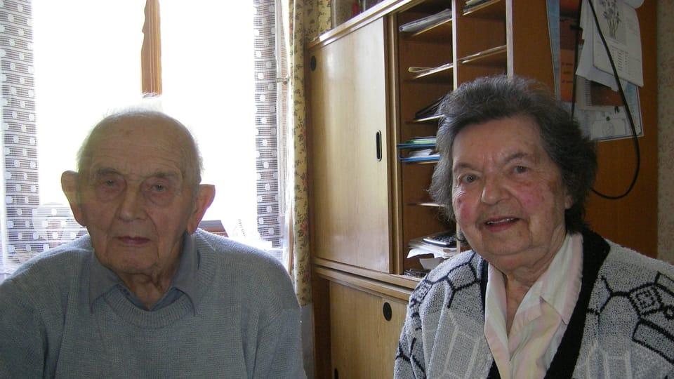 Супруги Йелинек - август 2008 г.  (Фото: Лорета Вашкова)