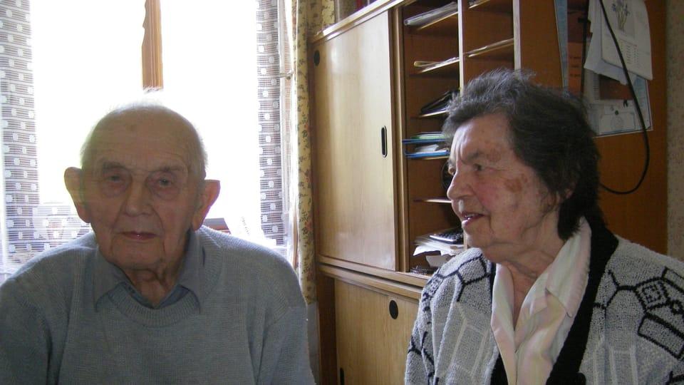 Ян Йелинек и Анна Йелинекова в Орачове  (Фото: Лорета Вашкова)