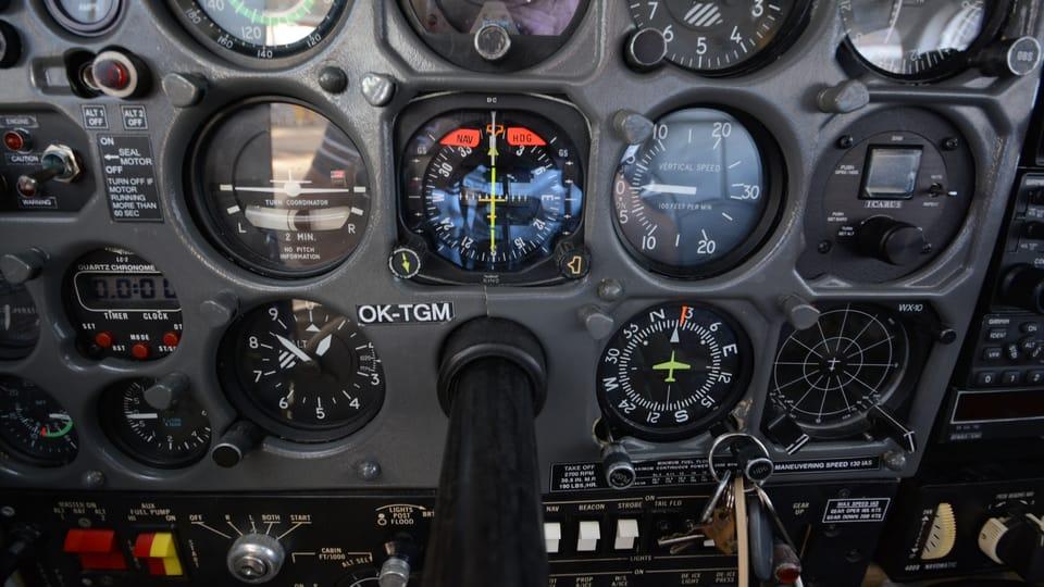 Самолет Cessna P-210,  фото: Эва Туречкова
