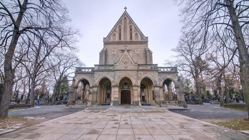 Часовня св. Вацлава на Виноградском кладбище,  фото: Томаш Сысел