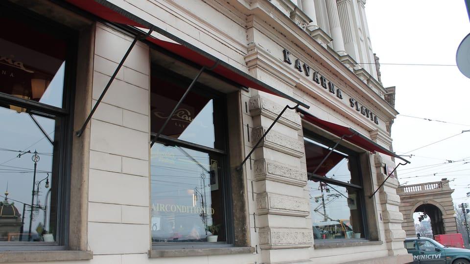 Кафе «Славия»,  фото: Онджей Томшу