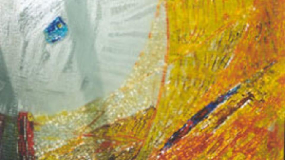 Окно,  приход Мейрин в Женеве,  2002 г.,  травленое стекло,  мозаика