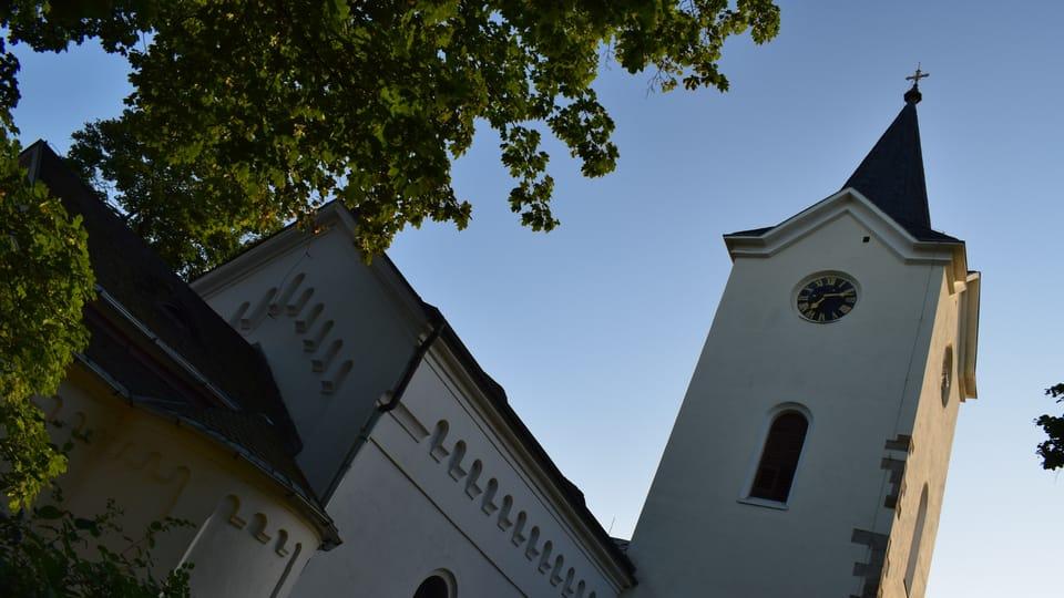 Костел Вознесения Богородицы,  Фото: Екатерина Сташевская,  Чешское радио - Радио Прага