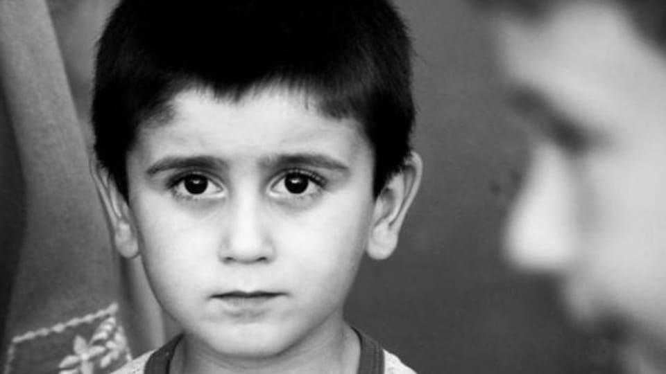 Сын Энвера Мамутова,  обвиненного по делу «Хизб ут-Тахрир»,  Фото: Антон Наумлюк
