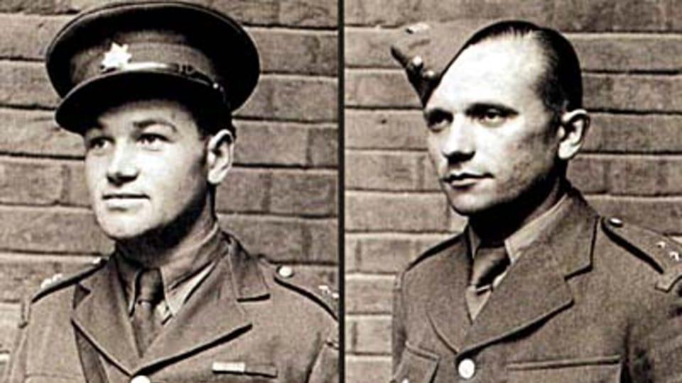 Ян Кубиш и Йозеф Габчик