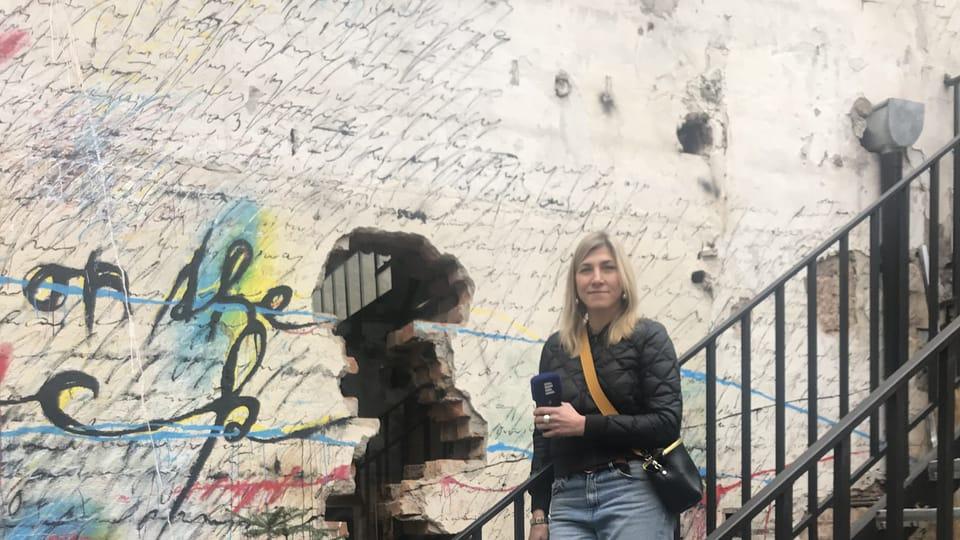 Таня во Vnitroblok,  фото: Ольга Васинкевич