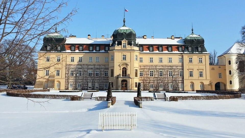 Ланский замок,  фото: Михаела Булакова,  Чешское радио