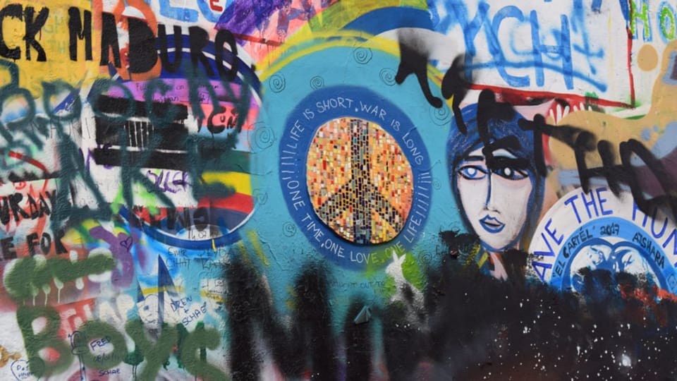 Стена Леннона,  фото: Екатерина Сташевская